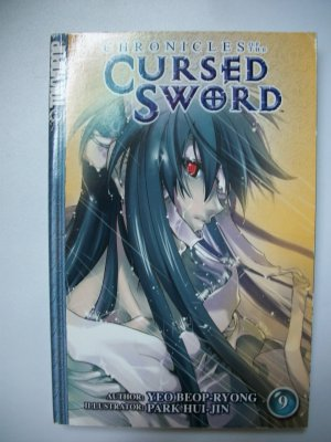 CHRONICLES OF THE CURSED SWORD VOL. 9 MANWHA KOREAN TOKYOPOP MANGA GRAPHIC NOVEL ANIME