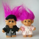 RUSS & I.T.B. TROLL LOT W/ NIGHTGOWN PAJAMAS RARE LOT