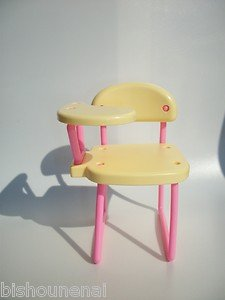BARBIE KELLY MADE IN HONG KONG VINTAGE CHAIR DOLLHOUSE MINIATURE
