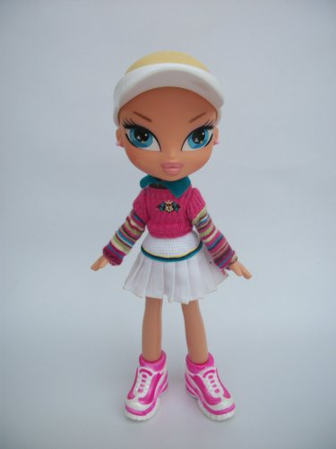 OOAK BRATZ KIDZ CLOE DOLL W/ COLORFUL CLOTHES SHOES LOT