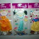 EK SUCCESS Disney Princesses Belle Snow White Jasmine 3D Stickers Costume