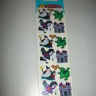 NEW SANDYLION HORSE DRAGON CASTLE FANTASY STICKERS