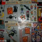 NEW JOLEES COLORBOK WITCH ZOMBIE HALLOWEEN STICKERS STRAWBERRY SHORTCAKE LOT
