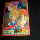 DRAGON BALL GT TRUNKS KID GOKU PAN RARE RETIRED STICKER CARD