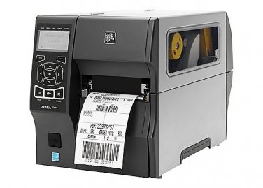 ZT410 Zebra Label Printer, 300dpi, USB, Ethernet, Rewind