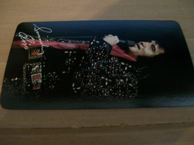 Elvis Presley 1977 RCA Pocket Calendar