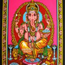 Indian Lord Ganesha Tapestry Throw Decor Hippie God Wall hanging