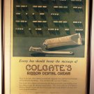 Antique Advertising Collectibles Colgate Ribbon Dental Cream Ad Toothpaste Morse Code 1918