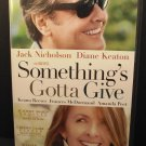 Something's Gotta Give DVD Jack Nicholson Diane Keaton Keanu Reeves 2003