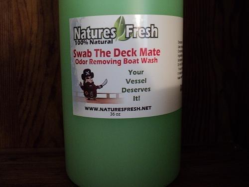 odor removing boat wash