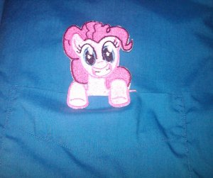 Pinkie Pie Pocket Topper Patch