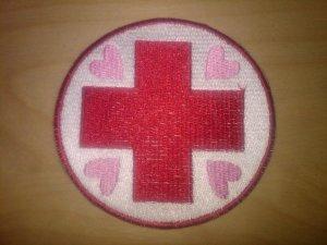 Nurse Redheart Circle Patch