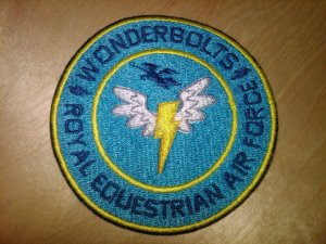 Wonderbolts Circle Patch