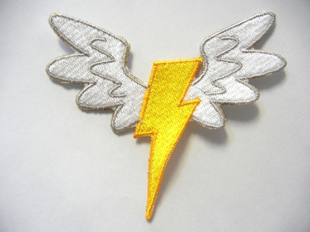 "Grey Wonderbolts Emblem Patch 4"""