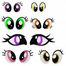 Embroidery Files - 50+ MLP Eyes and Related