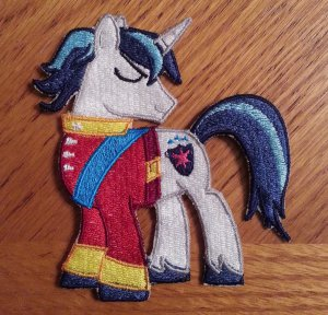 "4"" Shining Armor Patch"