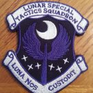 Dark Luna Latin Patch With Velcro