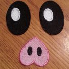 Fruit Bat Eyes and Nose