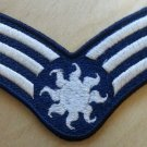 "4"" Solar Dress Uniform Rank Patch"