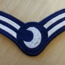 "4"" 2 Bar Lunar Dress Uniform Rank Patch"