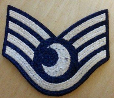 """4"""" 4 Bar Lunar Dress Uniform Rank Patch"""