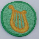 2 inch Lyra Merit Badge