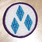 2 inch Rarity Cutie Mark Merit Badge