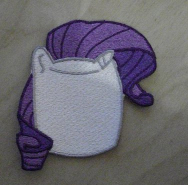Rarity Marshmallow Patch