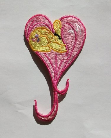 Fluttershy Heart Patch
