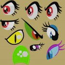 Embroidery Files - 70+ MLP Eyes and Related