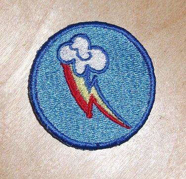 2 inch Rainbow Dash Merit Badge