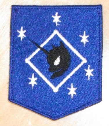 Lunar Raider Embroidered Patch w/velcro