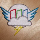 """Rainbow Factory Outline 4""""Patch"""