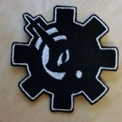 Lunar Gear/Bolt Patch in Black