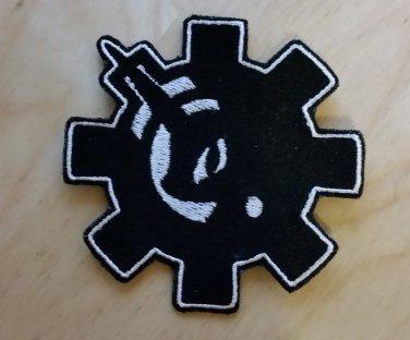 Lunar Gear/Bolt Patch in Black