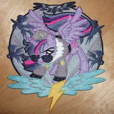 Twilight Sparkle Commander Easyglider Patch 10 Inch