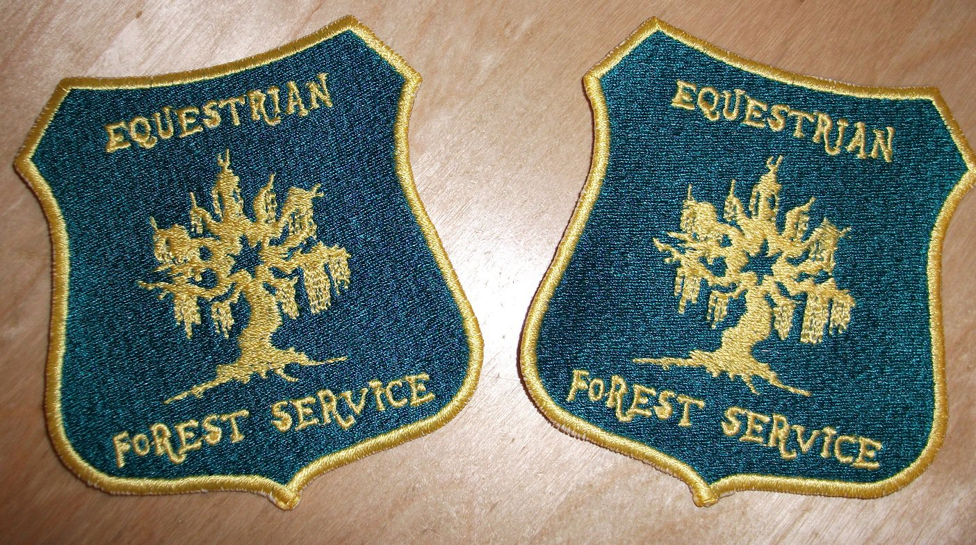 Equestian Forest Service Patch