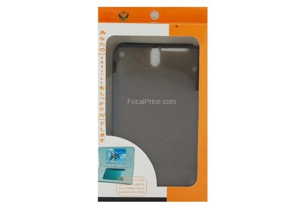 Silicone Case Skin Cover for DSi (Black)
