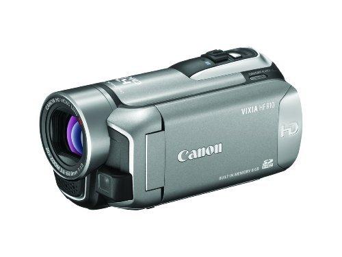 Canon VIXIA HF R10 Full HD Camcorder w/8GB Flash Memory (Silver)