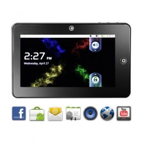 Othello Tab - Android 2.2 Capacitive Touchscreen 7 Inch Tablet
