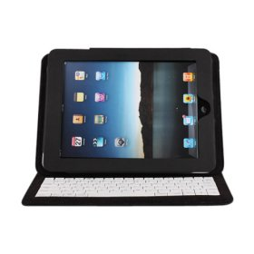 Leather Case Cover With Keyboard For 9.7 Inch iPad