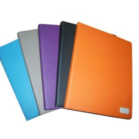 Stylish and Vibrant Leather Case/Stand for iPad