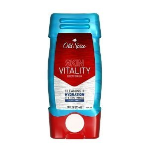 Old Spice Dry Skin Defense Double Impact Body Wash