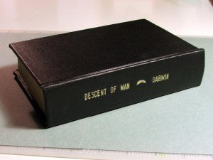 The Descent of Man by Charles Darwin, A.L. Burt Publisher, New York 1874 - Rebound [Hardcover]