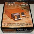 MusicMate Audio Cassette Cabinet Woodgrain