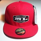 "Maurice Lucas Foundation ""ML 20"" Red Snapback Cap Hat"