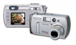 Samsung DIGIMAX 420 - 4.0 Megapixel 4X Digital Zoom Video Out PAL/NTSC- Movie Mode