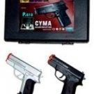 2 Pack Airsoft Pistol's w/ Plastic Case