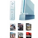 "Nintendo Wii ""Super Bundle"" Video Game System with 11 Games"