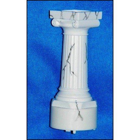 Lighted Orb  Stand / Holder (White/Marble)